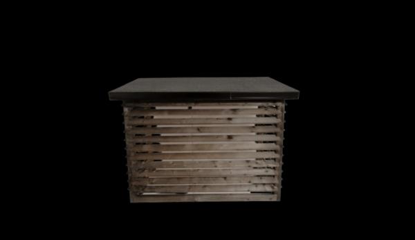 JS Varmepumper og Byggeservice - Varmepumpeskjuler - sort - luksus model