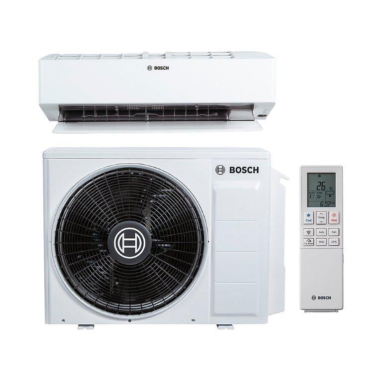 Bosch luft/luft varmepumpe 8100i