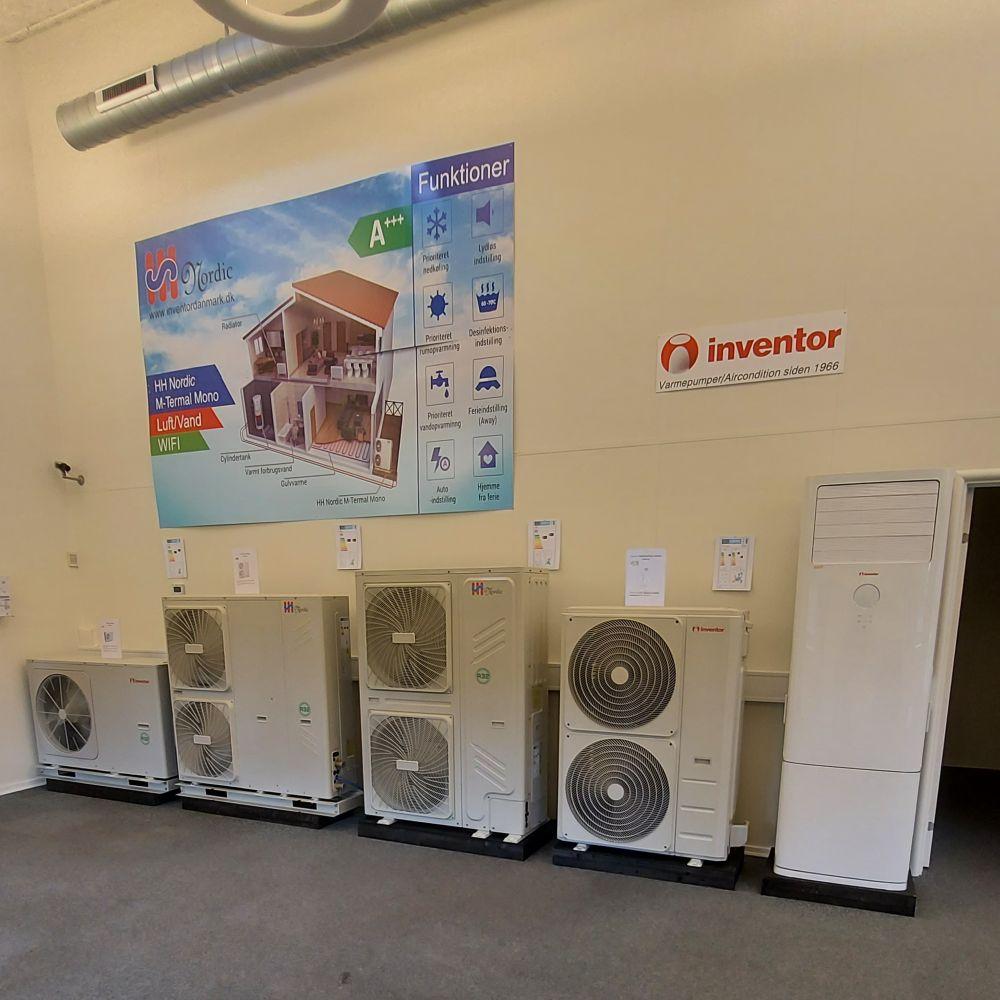 JS Varmepumper og Byggeservice butik indefra_4