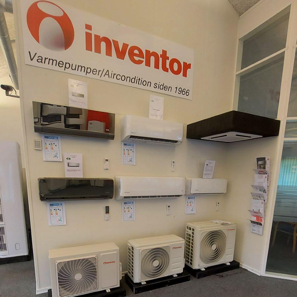 JS Varmepumper og Byggeservice butik indefra_5